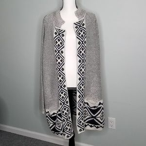 Long Cardigan Sweater Plus 2X New Old Navy